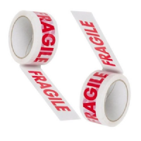 Printed FRAGILE Tape **50mm x 50m**
